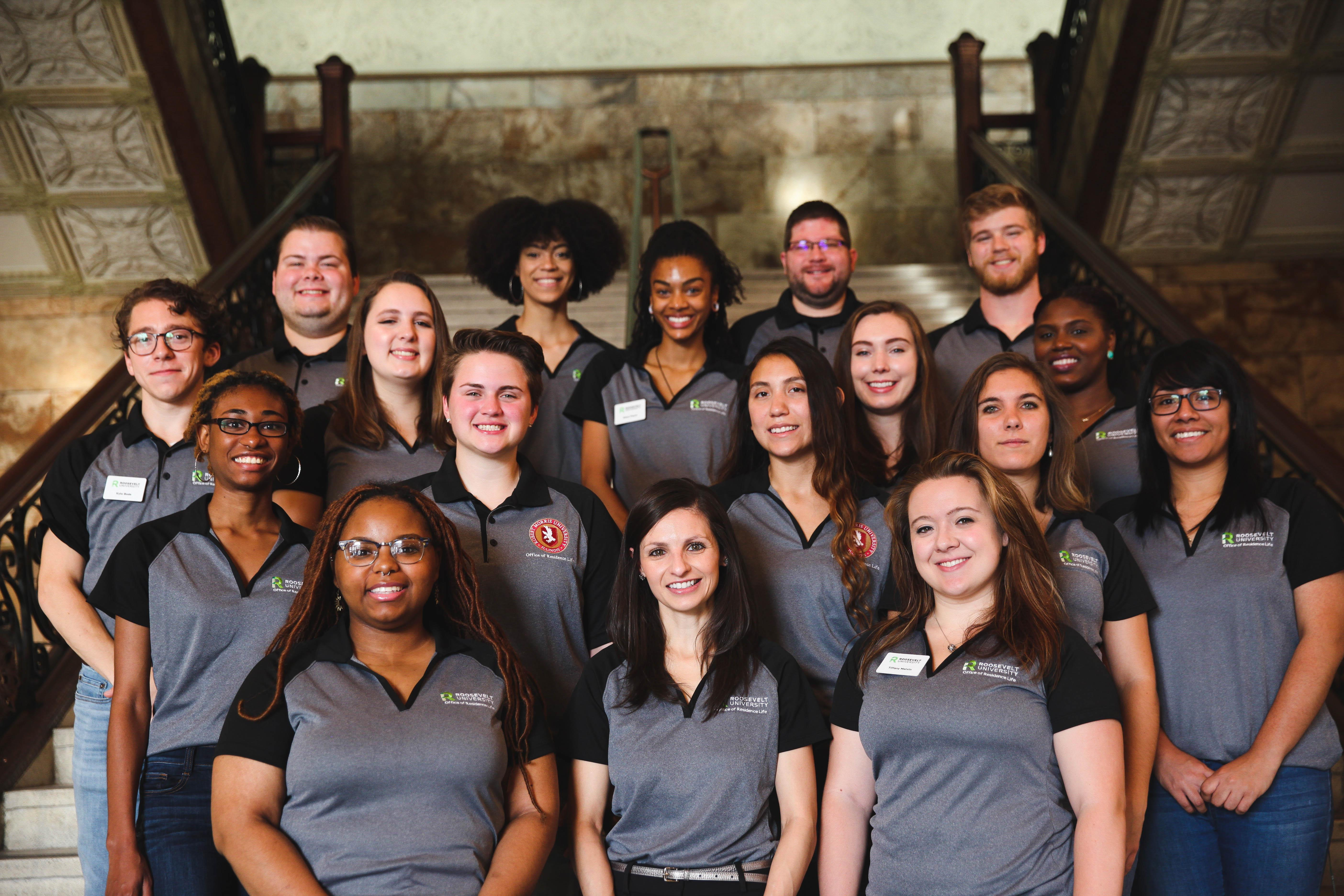 Image of Residence Life Team